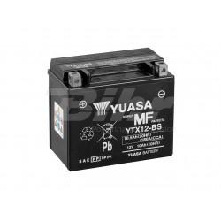 Batería Yuasa YTX12-BS Combipack (con electrolito)