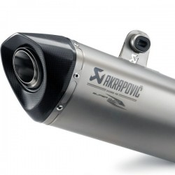SILENCIOSO AKRAPOVIC SLIP-ON KTM 1290 SUPER DUKE R TITANIO HEXAGONAL HOMOLOGADO