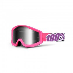 Gafas Mx 100% Strata Bubble Gum cristal espejo