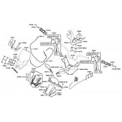 Espejo Retrovisor Vicma Universal Enduro Metrica R. M10/125 Izquierdo *