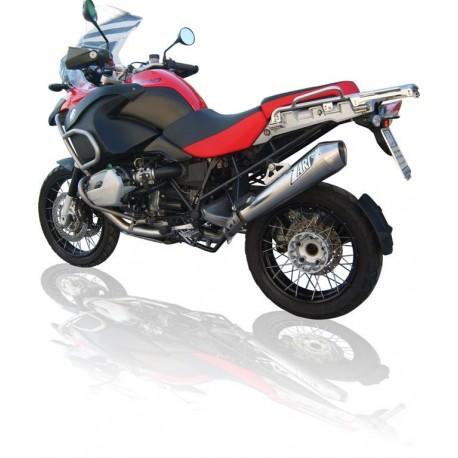 SILENCIOSO ZARD BMW R 1200 GS 04 - 09 CONICO INOX PULIDO HOMOLOGADO