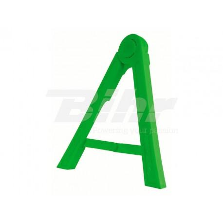 Triangulo lateral de plástico Polisport verde 8981700005