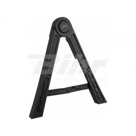 Triangulo lateral de plástico Polisport negro 8981700006