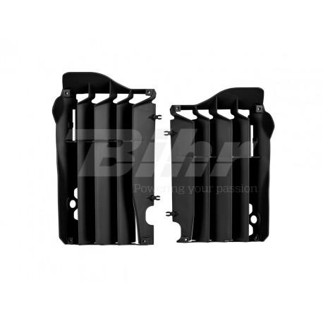 Aletines de radiador Polisport Honda negro 8455800001