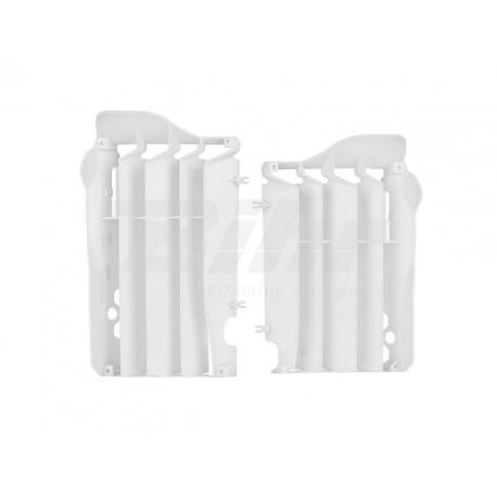 Aletines de radiador Polisport Honda blanco 8455800003