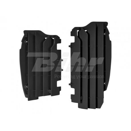 Aletines de radiador Polisport Kawasaki negro 8456000001