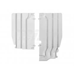 Aletines de radiador Polisport Suzuki blanco 8456100001