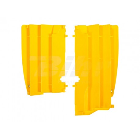 Aletines de radiador Polisport Suzuki amarillo 8456200002