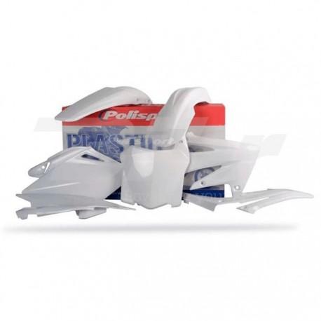 Kit plástica Polisport Honda blanco 90143
