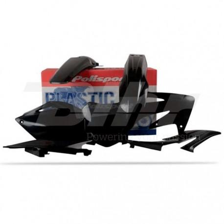 Kit plástica Polisport Honda negro 90144