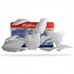 Kit plástica Polisport Honda blanco 90159