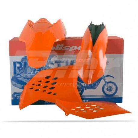 Kit plástica Polisport KTM color original 90182