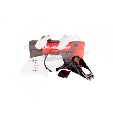 Kit plástica Polisport KTM blanco 90202