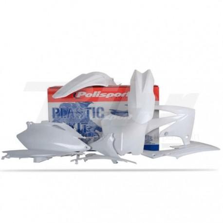 Kit plástica Polisport Honda blanco 90211