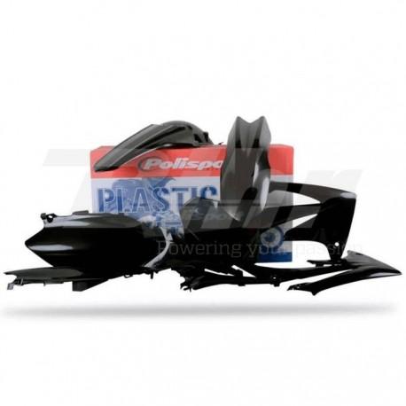 Kit plástica Polisport Honda negro 90212
