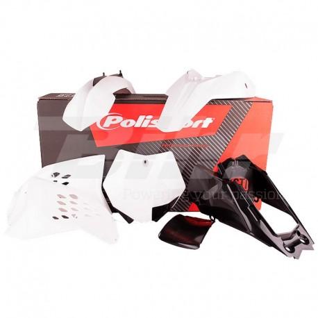 Kit plástica Polisport KTM blanco 90214
