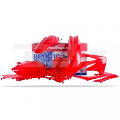 Kit plástica Polisport Honda rojo 90299