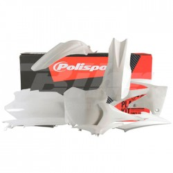 Kit plástica Polisport Honda blanco 90421