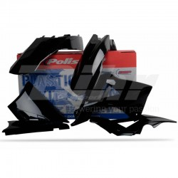 Kit plástica Polisport GAS GAS negro 90432