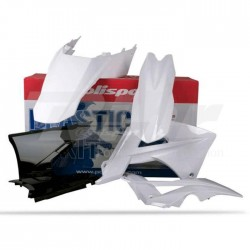 Kit plástica Polisport GAS GAS blanco / negro / blanco 90433