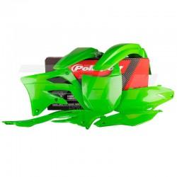 Kit plástica Polisport Kawasaki verde 90467
