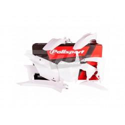 Kit plástica Polisport Honda blanco 90538