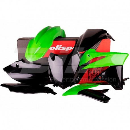Kit plástica Polisport Kawasaki color original 90542