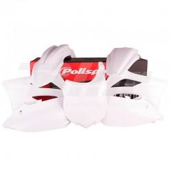 Kit plástica Polisport Kawasaki blanco 90546