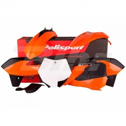 Kit plástica Polisport KTM color original 90555