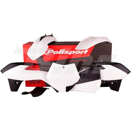 Kit plástica Polisport KTM blanco 90556
