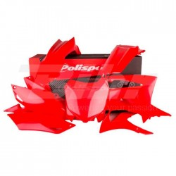Kit plástica Polisport Honda rojo 90628