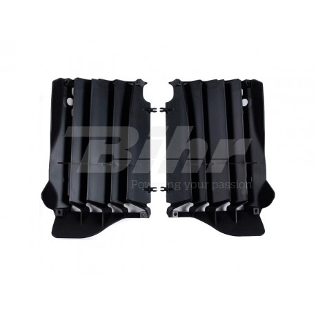 Aletines de radiador Polisport Honda negro 8457400001