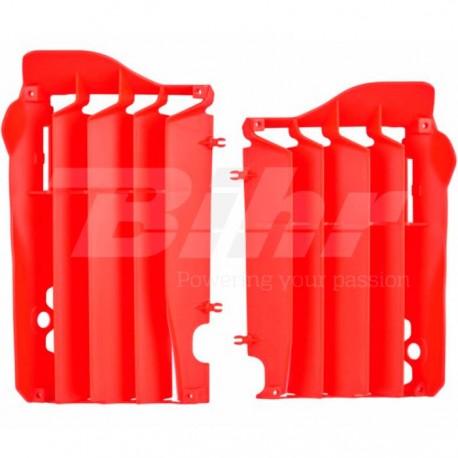 Aletines de radiador Polisport Honda rojo 8457400002