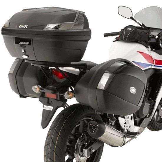 50f536de HERRAJES / SOPORTES MALETAS LATERALES GIVI HONDA CB 500 F Y CBR 500 R -  Punto Moto La Carlota