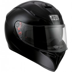 CASCO AGV K-3 SV NEGRO BRILLO