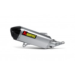 SILENCIOSO AKRAPOVIC YAMAHA X-MAX / X-CITY 250 2007 - 2017 HEXAGONAL SLIP ON TITANIO -