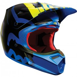 CASCO FOX V3 SAVANT 2015 AZUL