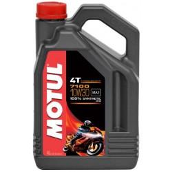 4L. Aceite Motul 7100 4T 10W 30 100% sintético