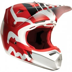 CASCO FOX V3 SAVANT 2015 ROJO