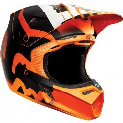 CASCO FOX V3 SAVANT 2015 NARANJA