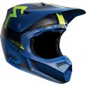 CASCO FOX V3 FRANCHISE 2015 AZUL
