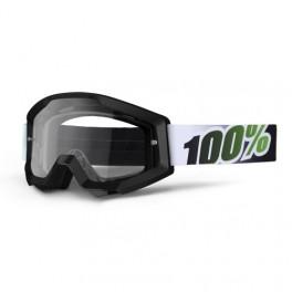 GAFAS MX 100% STRATA MOTOBLACK LIME