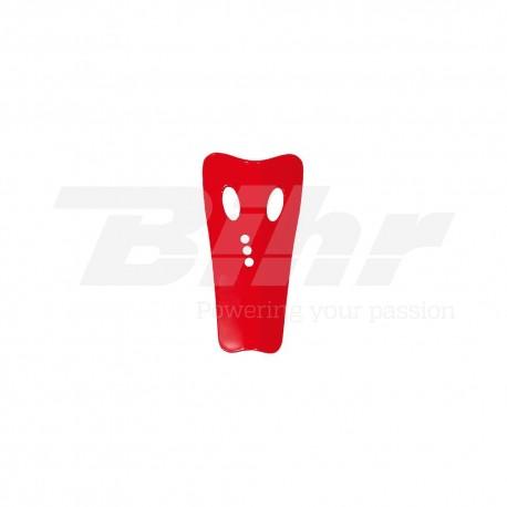 Recambio protector de tibia derecha grande UFO rojo KR007B
