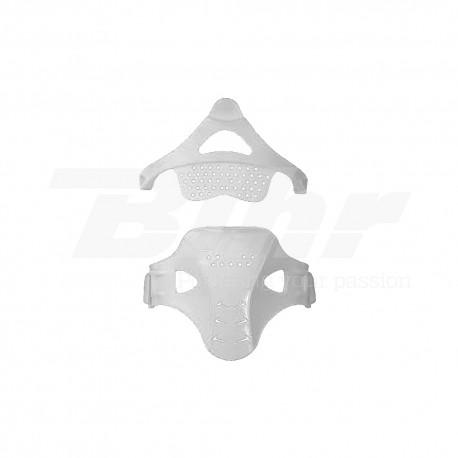 Protector central rodillera UFO Morpho fit blanco KR10W