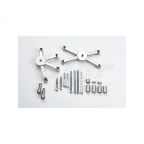 Kit montaje protectores de carenado GSX-R 600/750 ´ LSL 550S127.1