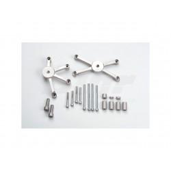 Kit montaje protectores de carenado Z1000 ABS '10- LSL 550K135.1