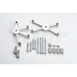 Kit montaje protectores de carenado GSX-R 1000 ´09- LSL 550S123