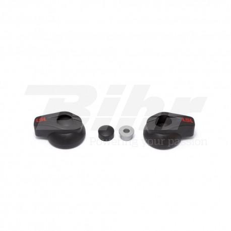Protectores de carenado negro LSL 550-002SW