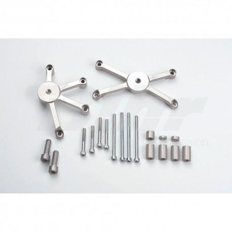 Kit montaje protectores de carenado Z750 '04-´06/10 LSL 550K104