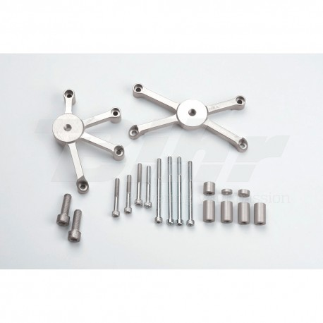 Kit montaje protectores de carenado SV650/S '03 LSL 550S091
